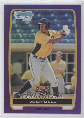 2012 Bowman Retail Chrome Prospects Purple Refractor #BCP79 - Josh Bell /199