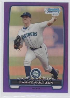 2012 Bowman Retail Chrome Prospects Purple Refractor #BCP87 - Danny Hultzen /199