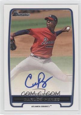 2012 Bowman Retail Prospect Certified Autographs [Autographed] #BPA-CP - Carlos Perez