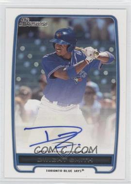 2012 Bowman Retail Prospect Certified Autographs [Autographed] #BPA-DS - Dwight Smith