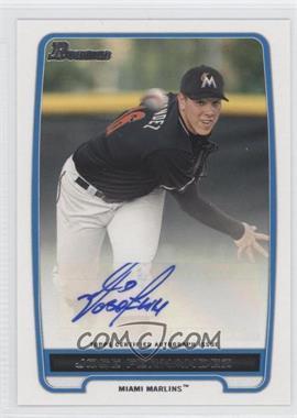 2012 Bowman Retail Prospect Certified Autographs [Autographed] #BPA-JF - Jose Fernandez