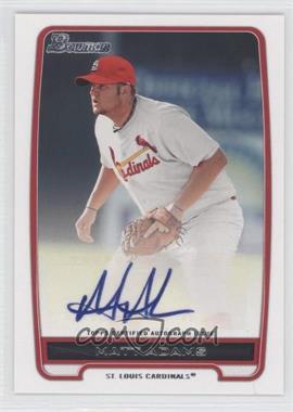 2012 Bowman Retail Prospect Certified Autographs [Autographed] #BPA-MA - Matt Adams