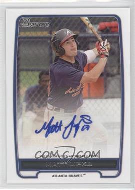 2012 Bowman Retail Prospect Certified Autographs [Autographed] #BPA-ML - Matt Lipka