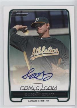 2012 Bowman Retail Prospect Certified Autographs [Autographed] #BPA-SG - Sonny Gray
