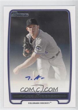 2012 Bowman Retail Prospect Certified Autographs [Autographed] #BPA-TA - Tyler Anderson