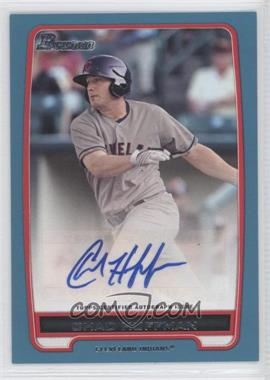 2012 Bowman Retail Prospect Certified Autographs Blue [Autographed] #BBA-CH - Chad Huffman /500