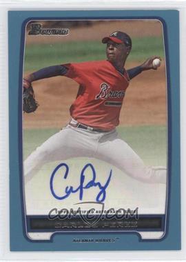 2012 Bowman Retail Prospect Certified Autographs Blue [Autographed] #BBA-CP - Carlos Perez /500