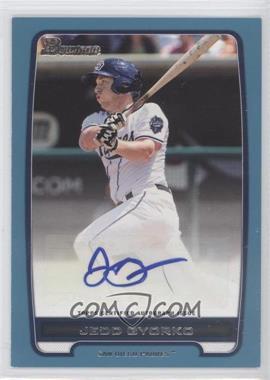 2012 Bowman Retail Prospect Certified Autographs Blue [Autographed] #BBA-JG - Jedd Gyorko /500