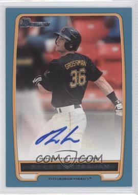 2012 Bowman Retail Prospect Certified Autographs Blue [Autographed] #BBA-RG - Robbie Grossman /500