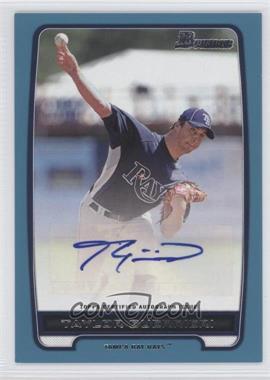 2012 Bowman Retail Prospect Certified Autographs Blue [Autographed] #BBA-TG - Taylor Guerrieri /500
