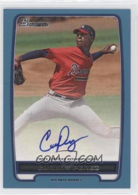 2012 Bowman Retail Prospect Certified Autographs Blue [Autographed] #BPA-CP - Carlos Perez /500