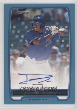 2012 Bowman Retail Prospect Certified Autographs Blue [Autographed] #BPA-DS - Dwight Smith /500