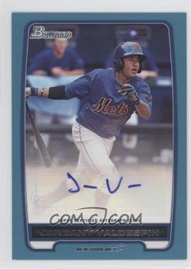 2012 Bowman Retail Prospect Certified Autographs Blue [Autographed] #BPA-JV - Jordany Valdespin /500