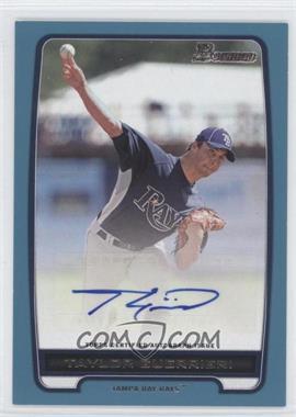 2012 Bowman Retail Prospect Certified Autographs Blue [Autographed] #BPA-TG - Taylor Guerrieri /500