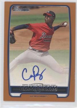 2012 Bowman Retail Prospect Certified Autographs Orange [Autographed] #BBA-CP - Carlos Perez /250