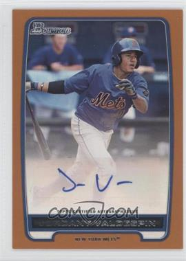 2012 Bowman Retail Prospect Certified Autographs Orange [Autographed] #BBA-JV - Jordany Valdespin /250