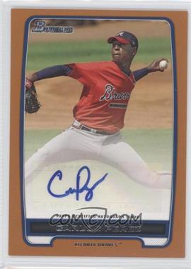 2012 Bowman Retail Prospect Certified Autographs Orange [Autographed] #BPA-CP - Carlos Perez /250