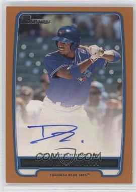 2012 Bowman Retail Prospect Certified Autographs Orange [Autographed] #BPA-DS - Dwight Smith /250