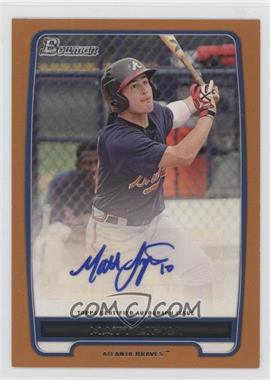 2012 Bowman Retail Prospect Certified Autographs Orange [Autographed] #BPA-ML - Matt Lipka /250