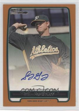 2012 Bowman Retail Prospect Certified Autographs Orange [Autographed] #BPA-SG - Sonny Gray /250