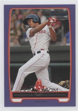 2012 Bowman Retail Prospects Purple #BP105 - Xander Bogaerts