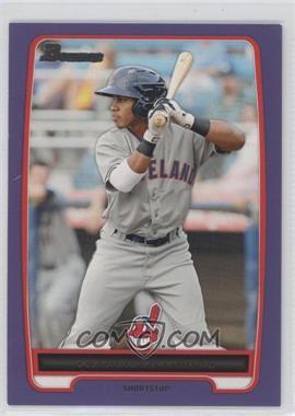 2012 Bowman Retail Prospects Purple #BP3 - Francisco Lindor