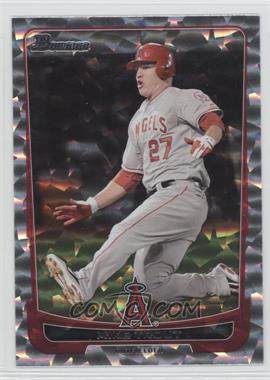 2012 Bowman Silver Ice #34 - Mike Trout