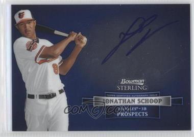 2012 Bowman Sterling - Autograph #BSAP-JSC - Jonathan Schoop