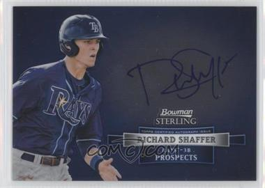 2012 Bowman Sterling - Autograph #BSAP-RS - Richard Shaffer