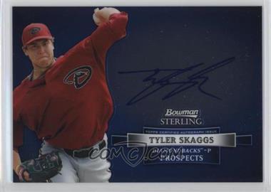 2012 Bowman Sterling - Autograph #BSAP-TS - Tyler Skaggs