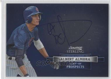2012 Bowman Sterling Autographed Prospects [Autographed] #BSAP-AA - Albert Almora
