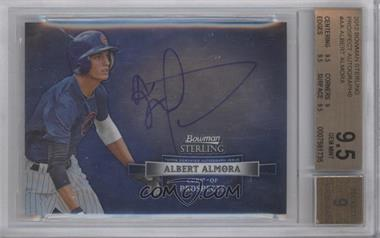 2012 Bowman Sterling Autographed Prospects [Autographed] #BSAP-AA - Albert Almora [BGS 9.5]