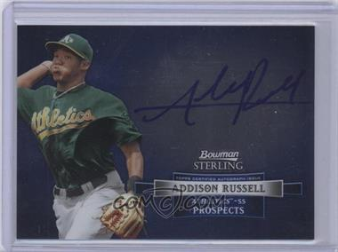 2012 Bowman Sterling Autographed Prospects [Autographed] #BSAP-AR - Addison Russell