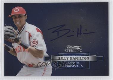 2012 Bowman Sterling Autographed Prospects [Autographed] #BSAP-BH - Billy Hamilton