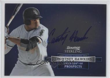 2012 Bowman Sterling Autographed Prospects [Autographed] #BSAP-CH - Courtney Hawkins