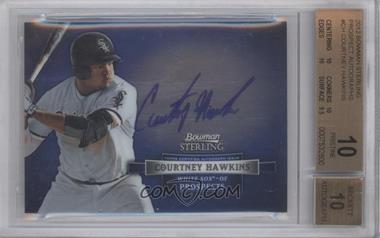 2012 Bowman Sterling Autographed Prospects [Autographed] #BSAP-CH - Courtney Hawkins [BGS 10]