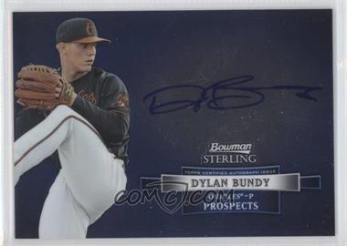 2012 Bowman Sterling Autographed Prospects [Autographed] #BSAP-DB - Dylan Bundy