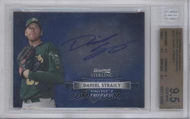 2012 Bowman Sterling Autographed Prospects [Autographed] #BSAP-DS - Dan Straily [BGS9.5]