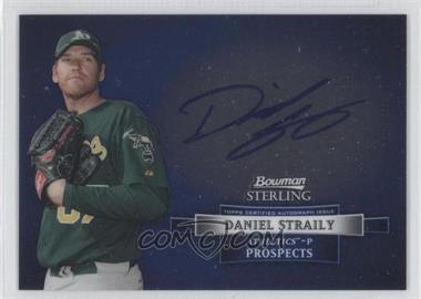 2012 Bowman Sterling Autographed Prospects [Autographed] #BSAP-DS - Dan Straily