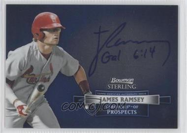 2012 Bowman Sterling Autographed Prospects [Autographed] #BSAP-JR - James Ramsey