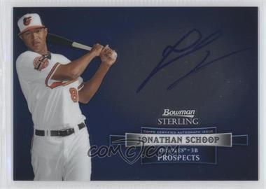 2012 Bowman Sterling Autographed Prospects [Autographed] #BSAP-JSC - Jonathan Schoop