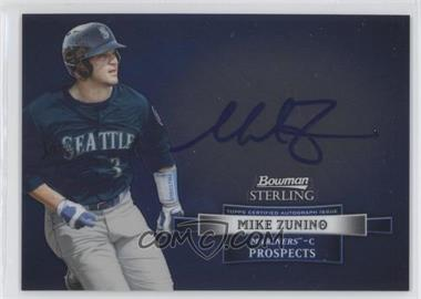 2012 Bowman Sterling Autographed Prospects [Autographed] #BSAP-MZ - Mike Zunino