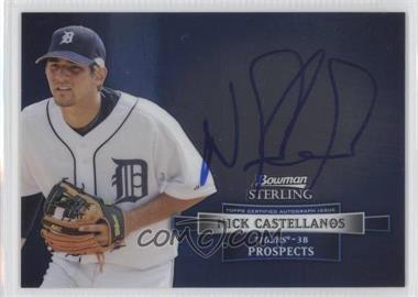 2012 Bowman Sterling Autographed Prospects [Autographed] #BSAP-NC - Nick Castellanos