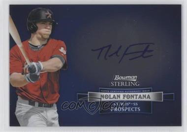 2012 Bowman Sterling Autographed Prospects [Autographed] #BSAP-NF - Nolan Fontana