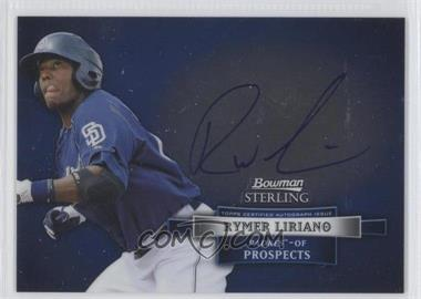 2012 Bowman Sterling Autographed Prospects [Autographed] #BSAP-RL - Rymer Liriano