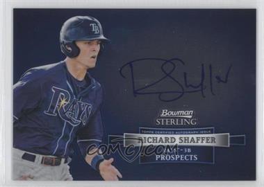 2012 Bowman Sterling Autographed Prospects [Autographed] #BSAP-RS - Richard Shaffer