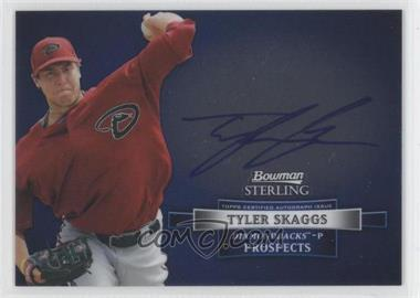 2012 Bowman Sterling Autographed Prospects [Autographed] #BSAP-TS - Tyler Skaggs