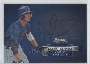 2012 Bowman Sterling Autographed Prospects #BSAP-AA - Albert Almora