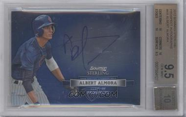 2012 Bowman Sterling Autographed Prospects #BSAP-AA - Albert Almora [BGS 9.5]