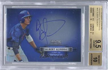 2012 Bowman Sterling Autographed Prospects #BSAP-AA - Albert Almora [BGS9.5]